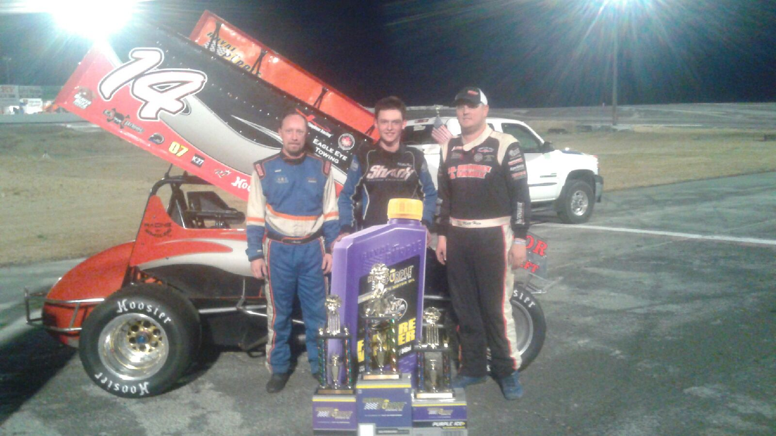 Canadian Youngster Robbie Price Scores Huge NSRA Win At Ephrata