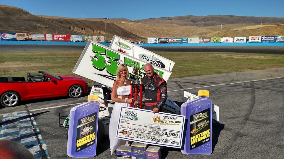 Jeff Montgomery Wins Royal Purple King of the Wing National Sprint Series/NSRA Series Thunder In The Valley At Wenatchee; Eric Humphries Crowned Northwest Swing Champ
