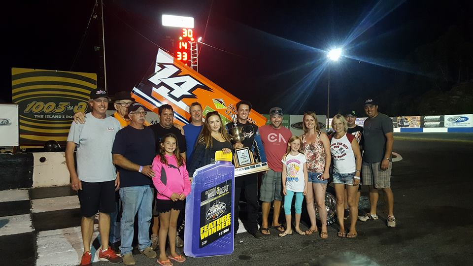 Robbie Price Wins Night One Of P&R Truck Centres Daffodil Cup