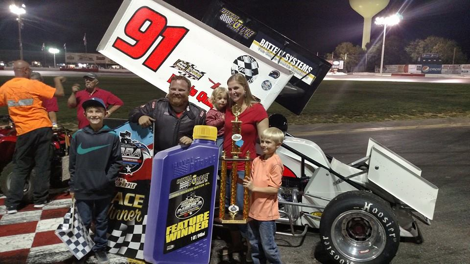 Bryan Warf Wins Royal Purple NSRA Sprints Finale; Matt Hein Captures 2016 Championship