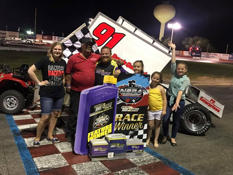Bryan Warf Conquers Royal Purple NSRA Winged Sprintcars At Meridian Diamond Cup Finale