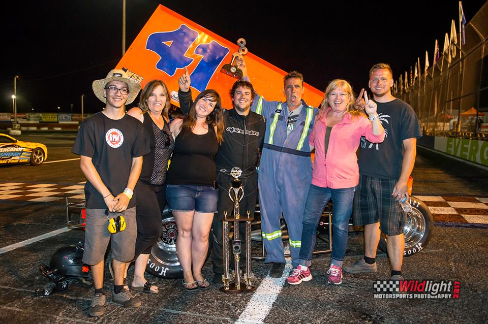 Aaron Willison Scores Huge Win At Rory Price Memorial With Royal Purple NSRA Winged Sprintcars