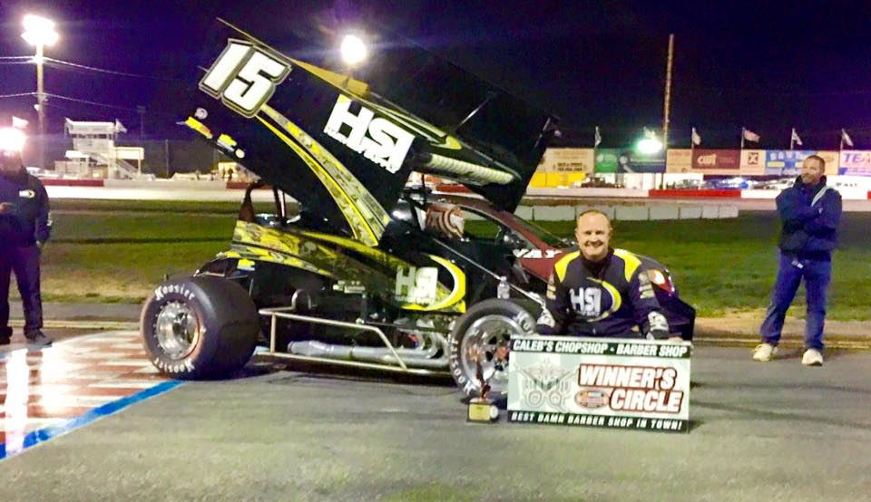 Eric Humphries Triumphant In Night One At Meridian With Royal Purple NSRA Winged Sprintcars/King Of The Wing